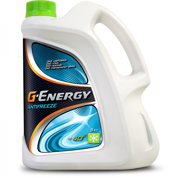G-Energy Antifreeze 40 кан.5 kg - Октафлюид