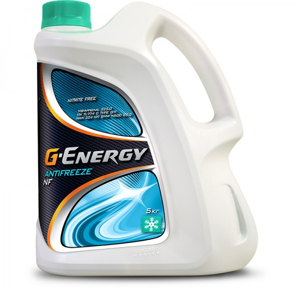 G-Energy Antifreeze NF 40 кан.5 kg - Октафлюид