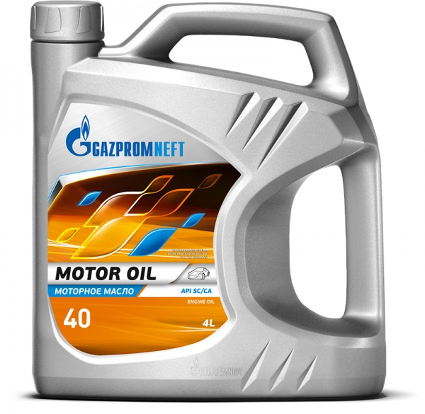 Gazpromneft Motor Oil 40 кан.4л ( 3 576 г) ГПн