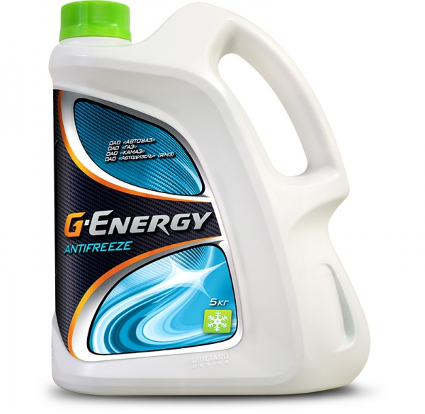 G-Energy Antifreeze кан.5 kg - Октафлюид