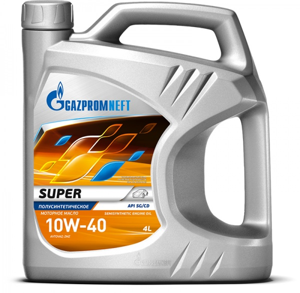 Gazpromneft Super 10W-40 кан.4л (3 494 г) ГПн