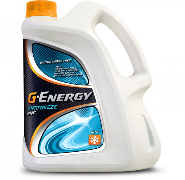 G-Energy Antifreeze SNF кан.5 kg - Октафлюид