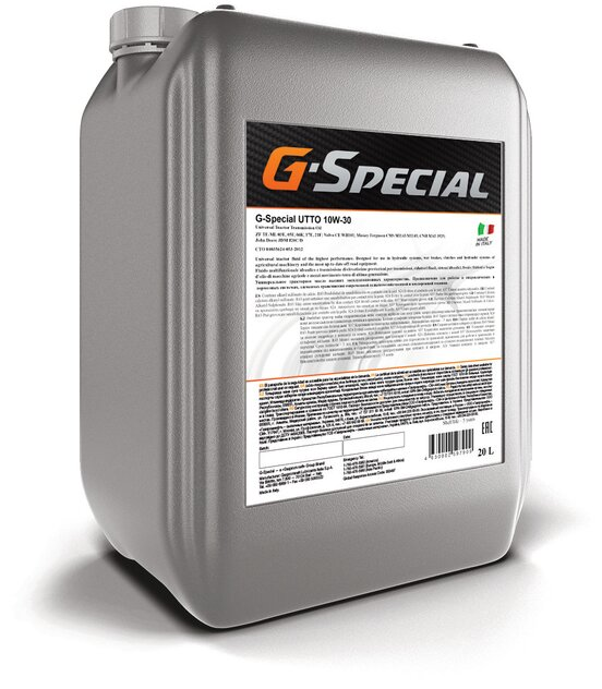 G-Special UTTO 10W-30 кан.20л (18 000 г) \ ГПн