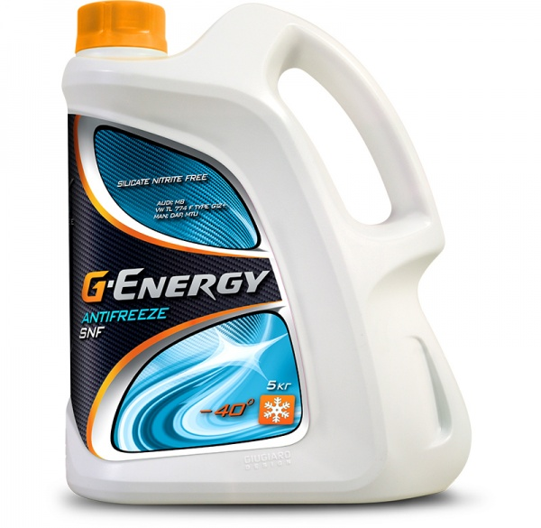 G-Energy Antifreeze SNF 40 кан.5 kg - Октафлюид