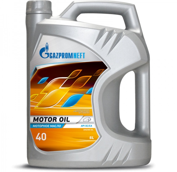 Gazpromneft Motor Oil 40 кан.5л ( 4 400 г) ГПн